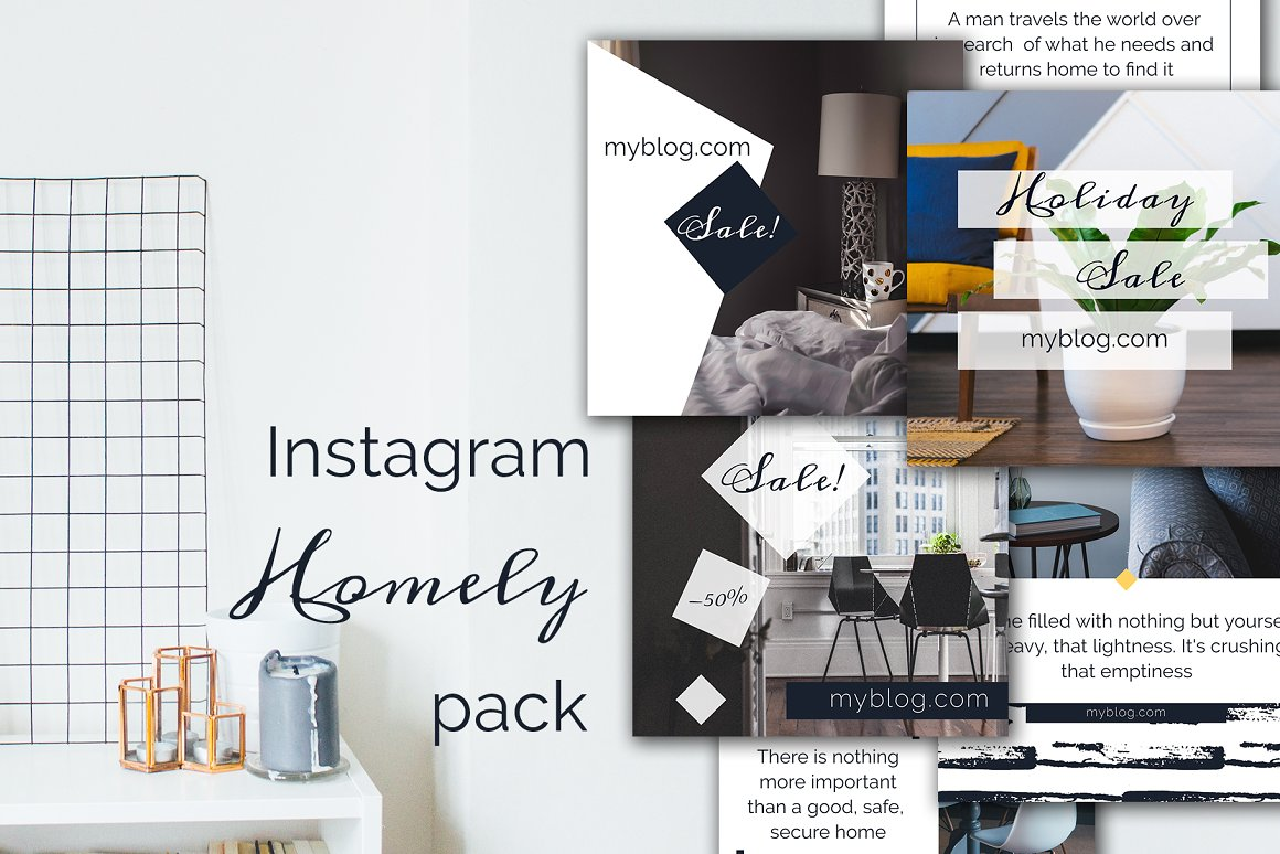 Instagram Home pack