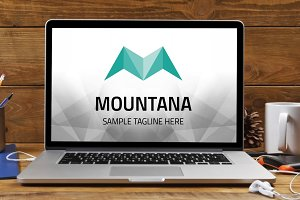 Letter M (Mountana) Logo