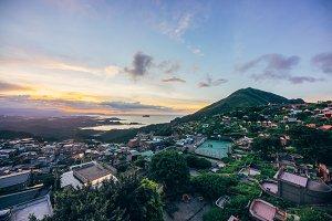 Sunset in Taiwan