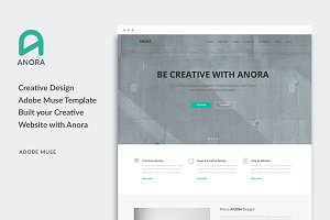 Anora - Multi-Purpose Muse Template
