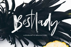 Bestlady Brush Font