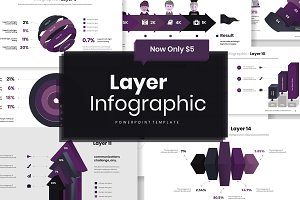 Layer Infographic PowerPoint