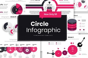 Circle Infographic PowerPoint