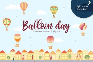 Balloon Day - creator & clipart