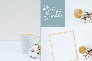 Coffee & Cotton Flower | Mini Bundle