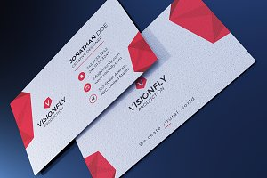 Corporate Origami Business Card
