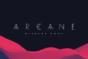 Arcane | Display Font