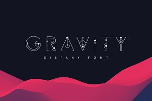 Gravity | Display Font