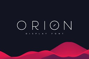 Orion | Display Font