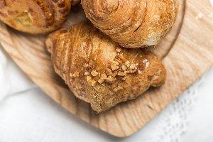 Freshly baked buns