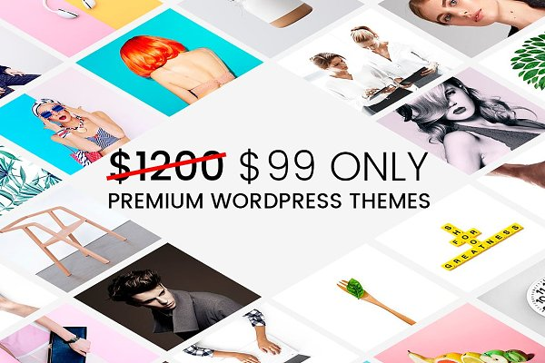 WordPress Business Themes: Visualmodo - 35 WordPress Themes - Mega Bundle