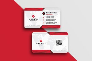 Corporate Multicolor Business Card
