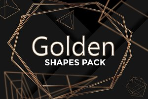 Golden Shapes Pack