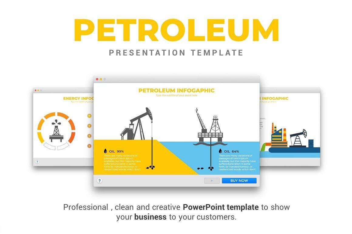 Petroleum powerpoint template presentation templates creative market toneelgroepblik Choice Image