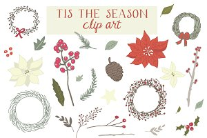 Tis The Season Clip Art