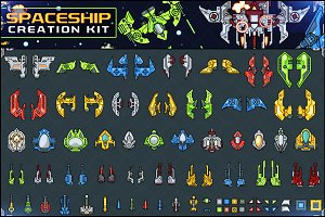 Spaceship Creation Kit - Game Assets