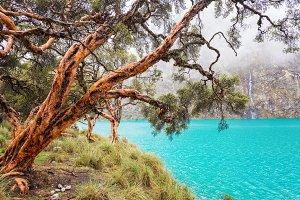 Blue Lake in the Cordillera Blanca