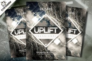 Uplift Sessions Flyer Template