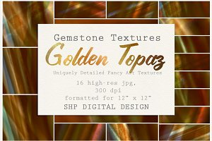 Gemstone Textures:  Golden Topaz