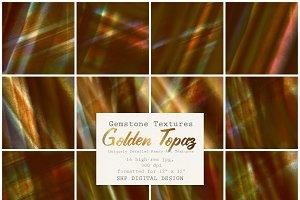 Gemstone Textures:  Golden Topaz
