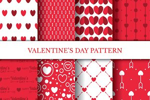 Lovely Valentine's Day Pattern Kit