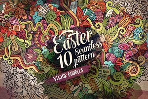 10 Easter Endless Patterns