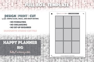 HPB Full Box Template