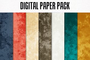 Digital Paper Pack: Be Bold Solids 2