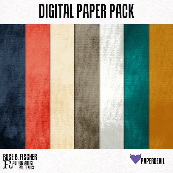 Digital Paper Pack: Be Bold Solids 3