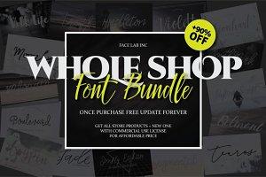 FONT BUNDLE - SHOP BUNDLE