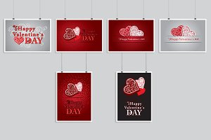 Valentines day cards.
