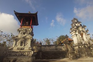 Hindu temple on the island of Nusa Penida.