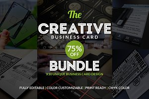 10 Creative Business Card Bundle