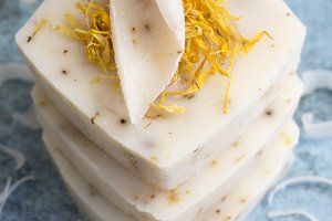 Natural Calendula Soap