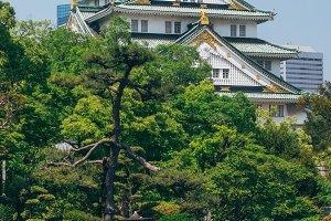 Castle in Osaka