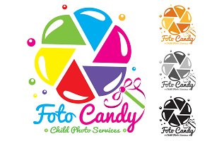 Foto Candy (Photo services) vector