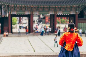 Traditional Clothes in Seoul