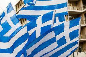 The Flag of Greece 2