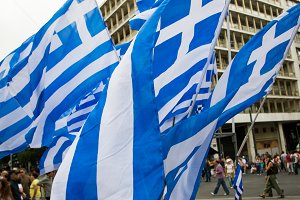 The Flag of Greece 1