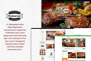 SM Restaurant - Magento 1.9 Theme