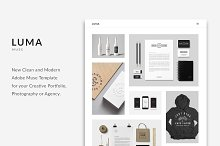 LUMA - Creative Muse Template by PixaSquare in Websites