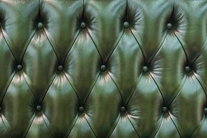 Decorative background of genuine leather