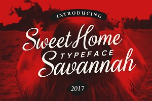 Sweet Home Savannah Font Duo