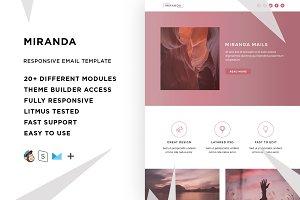 Miranda – Email template + Builder