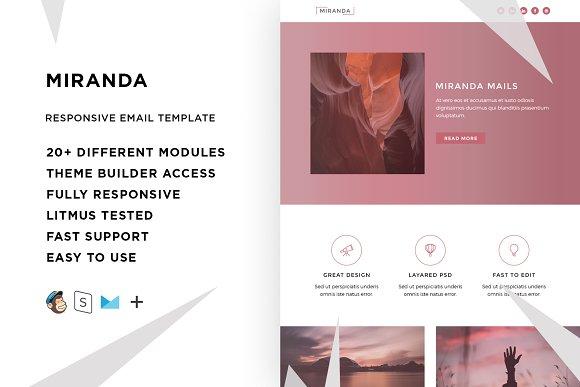 Miranda Email Template Builder