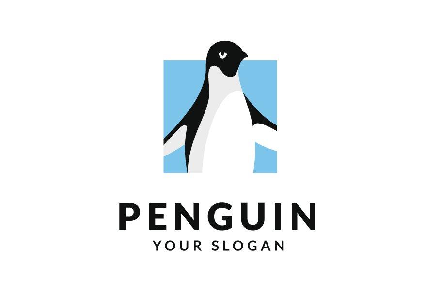 Penguin Logo Logo Templates Creative Market