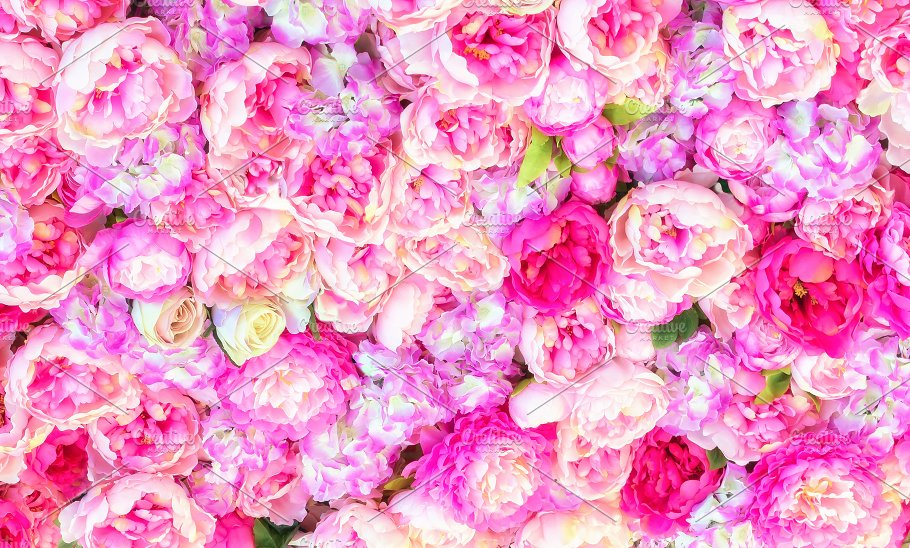 Beautiful background of artificial pink peonies wedding festive beautiful background of artificial pink peonies wedding festive decoration floral rose background pink flowers background voltagebd Images