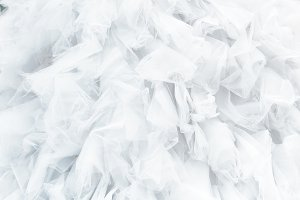 Textile white wedding dress background. Wedding gown background