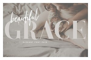 Beautiful Grace - Elegant Font Pair