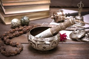 copper singing bowl
